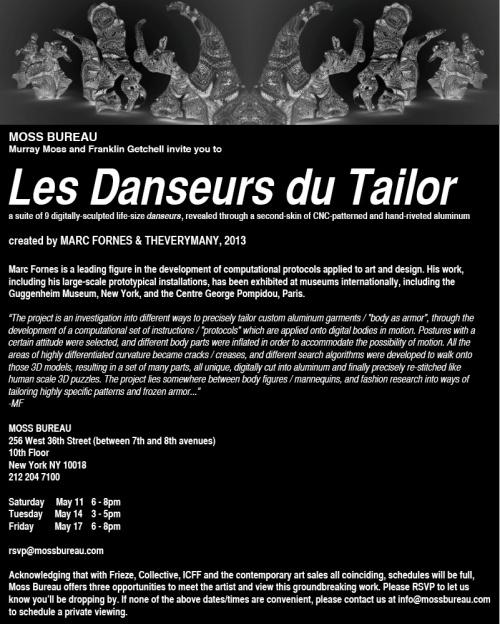 danseurs invite
